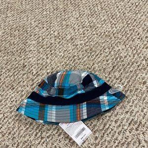 NWT Gymboree Plaid Boys Bucket Hat 12-24M